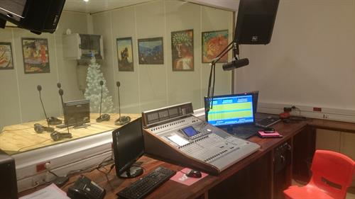 Radio station in Bora Bora