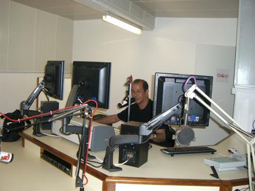 Radio station NRJ, Papeete, Tahiti