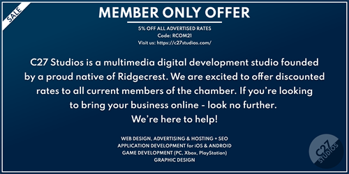 Chamber Member Discount Code