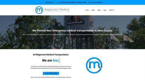 Ridgecrest Medical Transportation Website