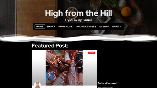 High from the Hill Website