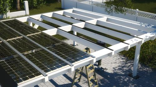 We can install solar on other structures, if you don't want them on your roof.