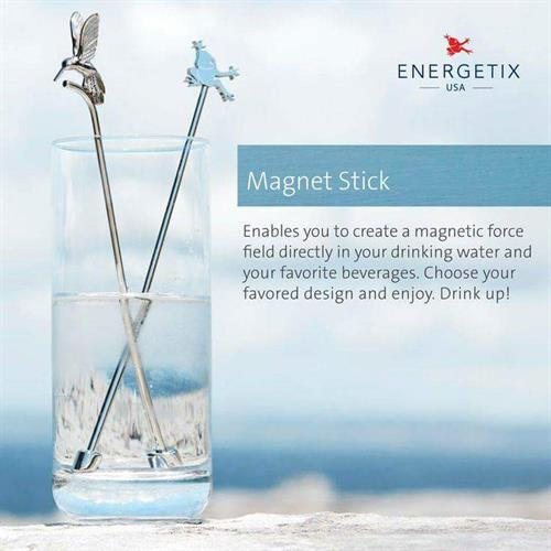Our Magnet Sticks add magnetic power to your drinking water.
