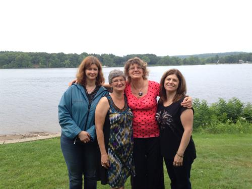 Beautiful Connecticut River for our business meeting in July 2015