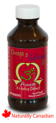 Auum Sublingual D Omega 3 with vitamin D light lemon texture Sublingual