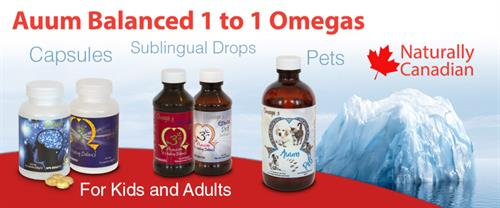 Auum Omega 3 Leader in sublingual omega 3 with vitamin D and vitamin A.