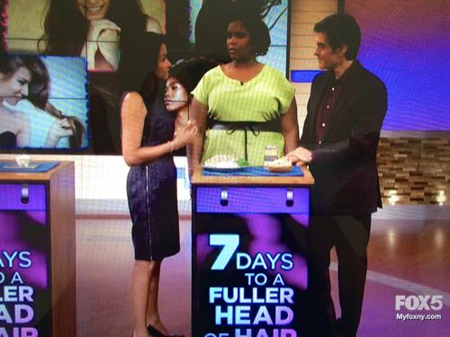 """Dr. Candy shares her expertise with Dr. Oz...."""" 7 Days To A Fuller Head of Hair"""""""