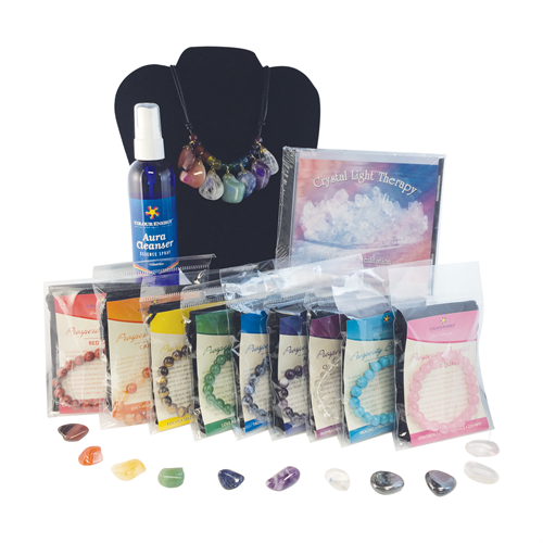 Chakra Gemstones, Gem Necklace, Prosperity Gem Bracelets and Crystal CD