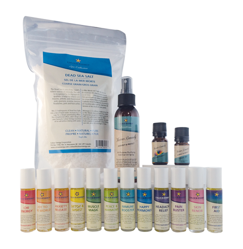Therapy Blends, Dead Sea Salts with Thieves Blend, Spray and Mix