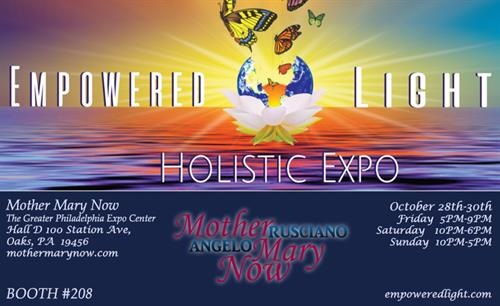 October 28th-30th The Empowered Light Expo Event