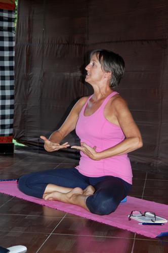 Anne teaching breathing.