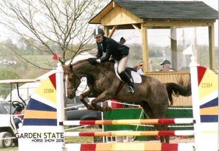 Anne as competitive equestrian
