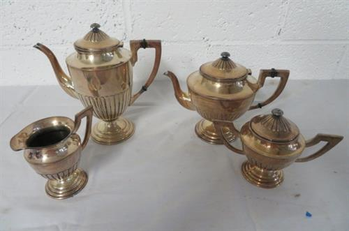 sterling tea set