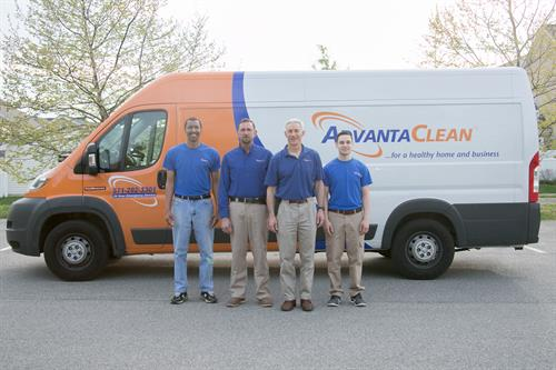 Some of the AdvantaClean team
