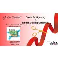 Niles Teen Center Grand Re-Opening & Ribbon Cutting