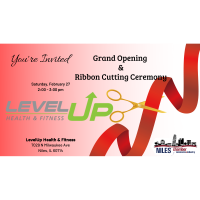LevelUp Health and Fitness Grand Opening & Ribbon Cutting