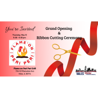 Flame on Peri Peri Grill Grand Opening & Ribbon Cutting