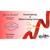 HTS Craft Studio Grand Opening & Ribbon Cutting