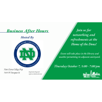 Business After Hours @ Notre Dame College Prep