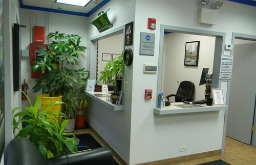 Customer Greeting Area