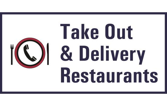 Takeout & Delivery Restaurants