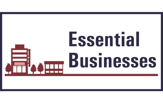 Open - Essential Business