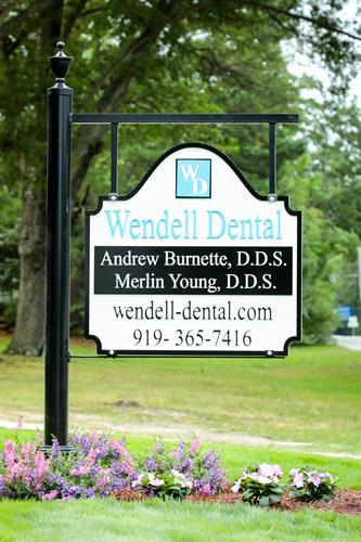 Find our sign right off Wendell Blvd!