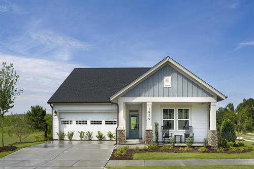 The Sweetbriar model home in Wendell Falls