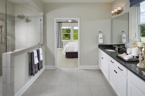 Luxurious Owner's bathroom with walk in closet