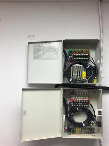 Warehouse security install