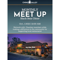 Monthly MeetUp: Black Bear Diner