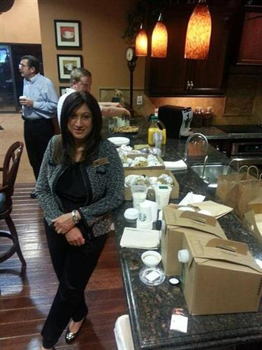 Nikki Kardar at the Chino Valley Real Estate Professionals Weekly Meeting