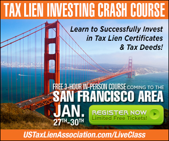 US Tax Lien Association Banner Ad Campaign