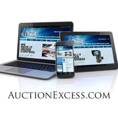 auctionexcess.com Website Design