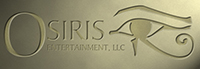 Osiris Entertainment Logo Design