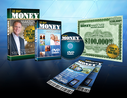 30 Day Money Maker Over Infomercial Package Design