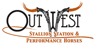 Out West Stallion Station Logo Design