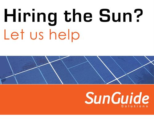 Hiring the Sun with SunGuide Solutions (Solar Installation)