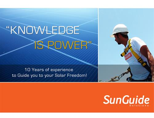 10 years of Experience in the Solar Field (Solar Installation)