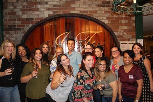 Team Building Dinner at Phillip Winery in Rancho Cucamonga