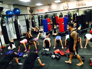 Fitness Kickboxing Group Class