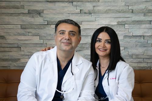 Dr. Kooshyar and Dr. Mana