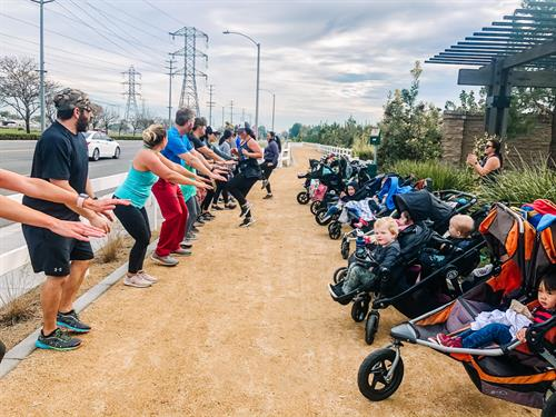 Stroller Strides - stroller based full body workout
