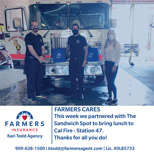 Cal Fire + Farmers Insurance