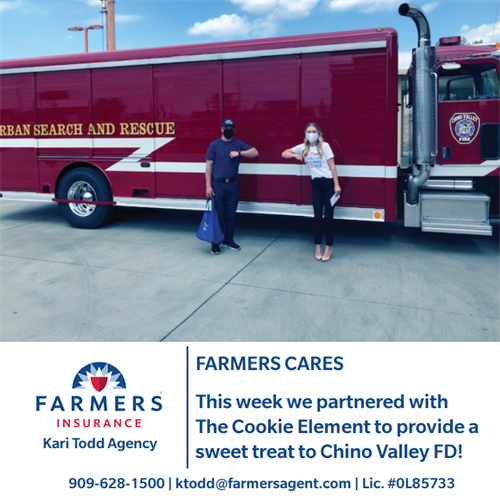 Chino Valley Fire District + Farmers Insurance