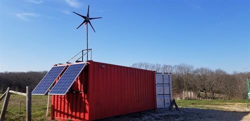 Off-grid Energy Pod