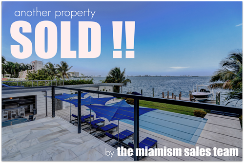 Miami Shores Bay Front sold at Record Price