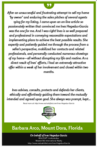 Client Testimonial - Alfred Browning Parker Home
