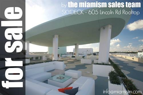 Licoln Road Rooftop For Sale