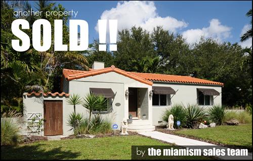Miami Shores Home SOLD